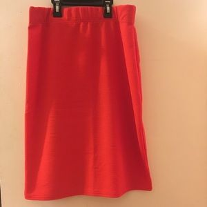 Dresses & Skirts - Peach mid length skirt